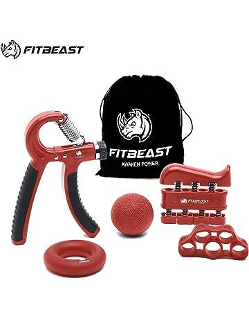 Paire de Main Bras De Préhension Grip Heavy Bracelet Ajustable Sport Gym Entraînement Fitness