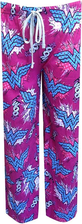 Wonder Woman Chandal Para Hombre Pijama De Mujer Para Senderismo Boom Pantalones De Running Para Amazon Es Ropa Y Accesorios