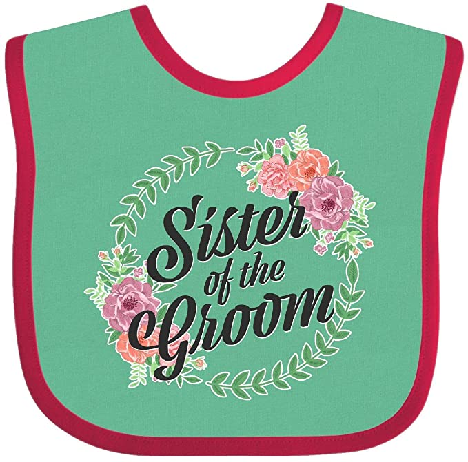 inktastic Daughter of The Groom with Flower Circle Toddler T-Shirt
