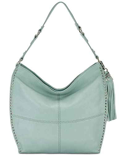 Amazon.com  The Sak Silverlake Mint Green Leather Hobo Handbag Purse Tote   Shoes bb3001b64538e