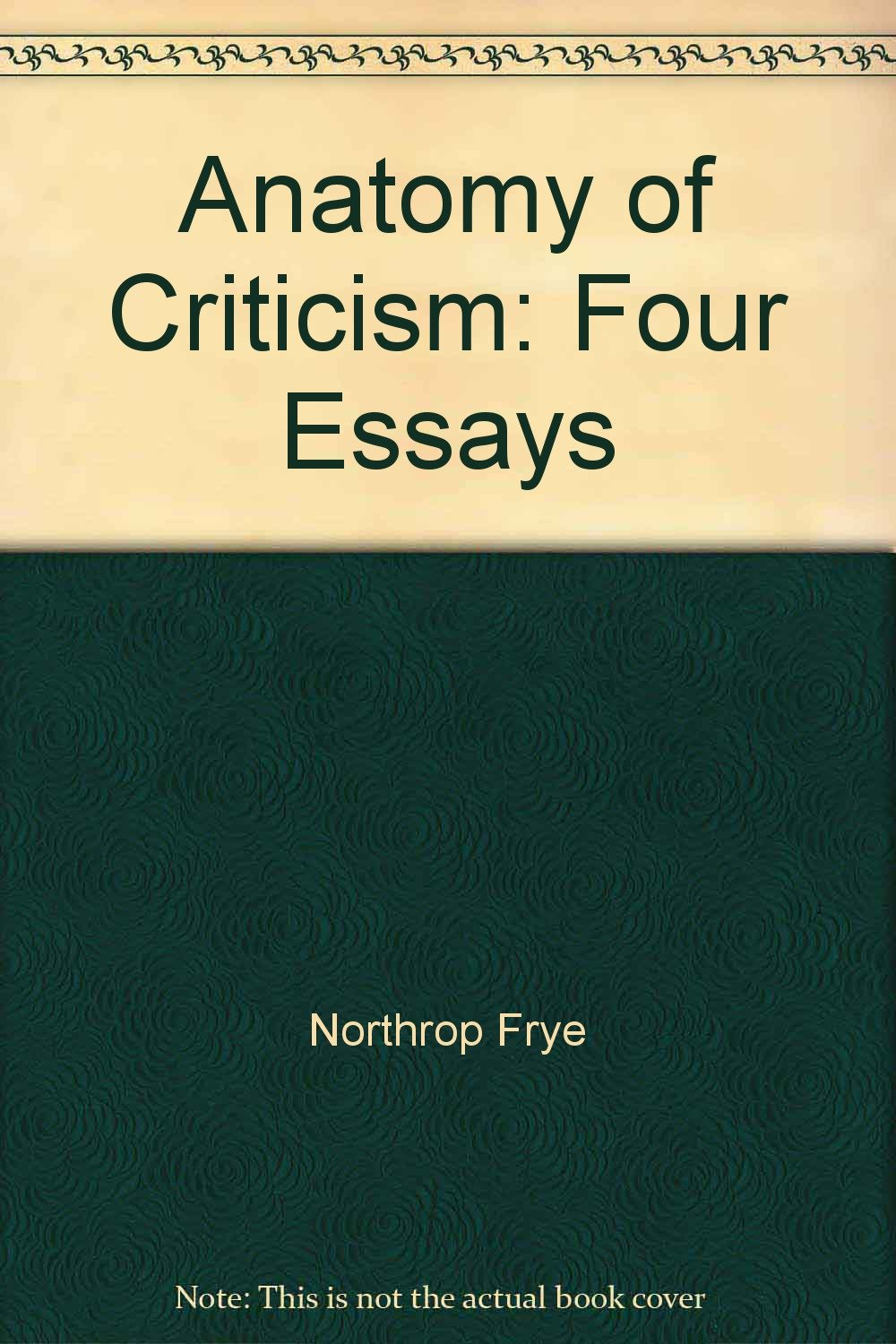 Perfect Northrop Frye Anatomy Of Criticism Photo - Physiology Of ...