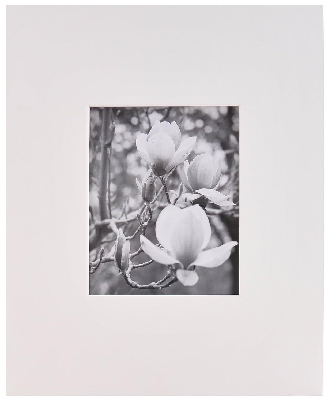 Nielsen Bainbridge Artcare White 16x20 Pre-Cut Museum Quality Archival Picture Mat for 8x10 Photo NBG Home GM10C
