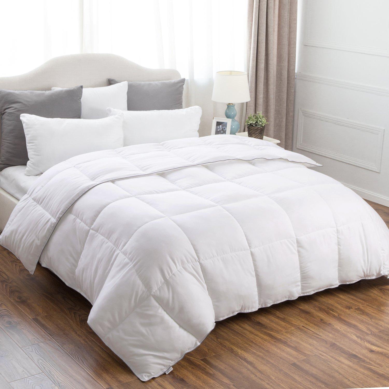Amazon.com: Bedsure Full/Queen Comforter Duvet Insert with Corner ...