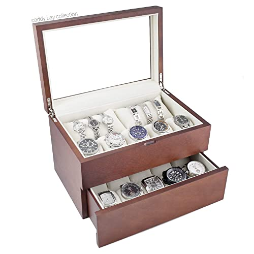 Amazon Com Personalized Wood Watch Box For Men Holds 20 Father S