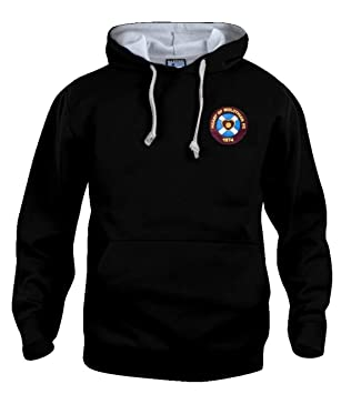 official photos c0702 117cd Heart of Midlothian 1950s Hearts Football Hoodie Sizes S-XXXL Embroidered  Logo