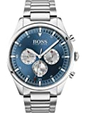 Hugo Boss Mens Quartz Watch, Chronograph Display and Stainless Steel Strap 1513713
