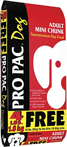 Pro Pac, Adult Mini Chunk, 44 Pound Bag