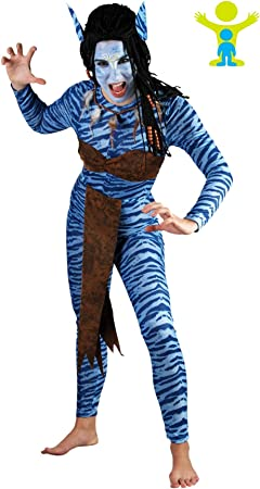 Fyasa 706055-t04 selva Mujer Warrior disfraz, tamaño grande ...