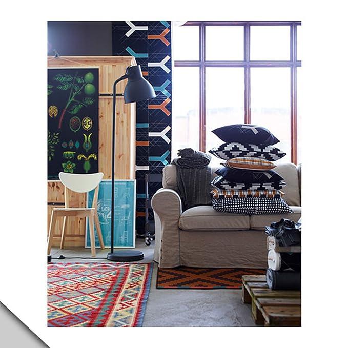 Amazon.com: IKEA – Lámpara de pie hektar + E26 Bombilla ...