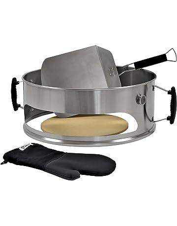 BBQ-Toro - Accesorio de Acero Inoxidable para Pizza (57 cm de diámetro,