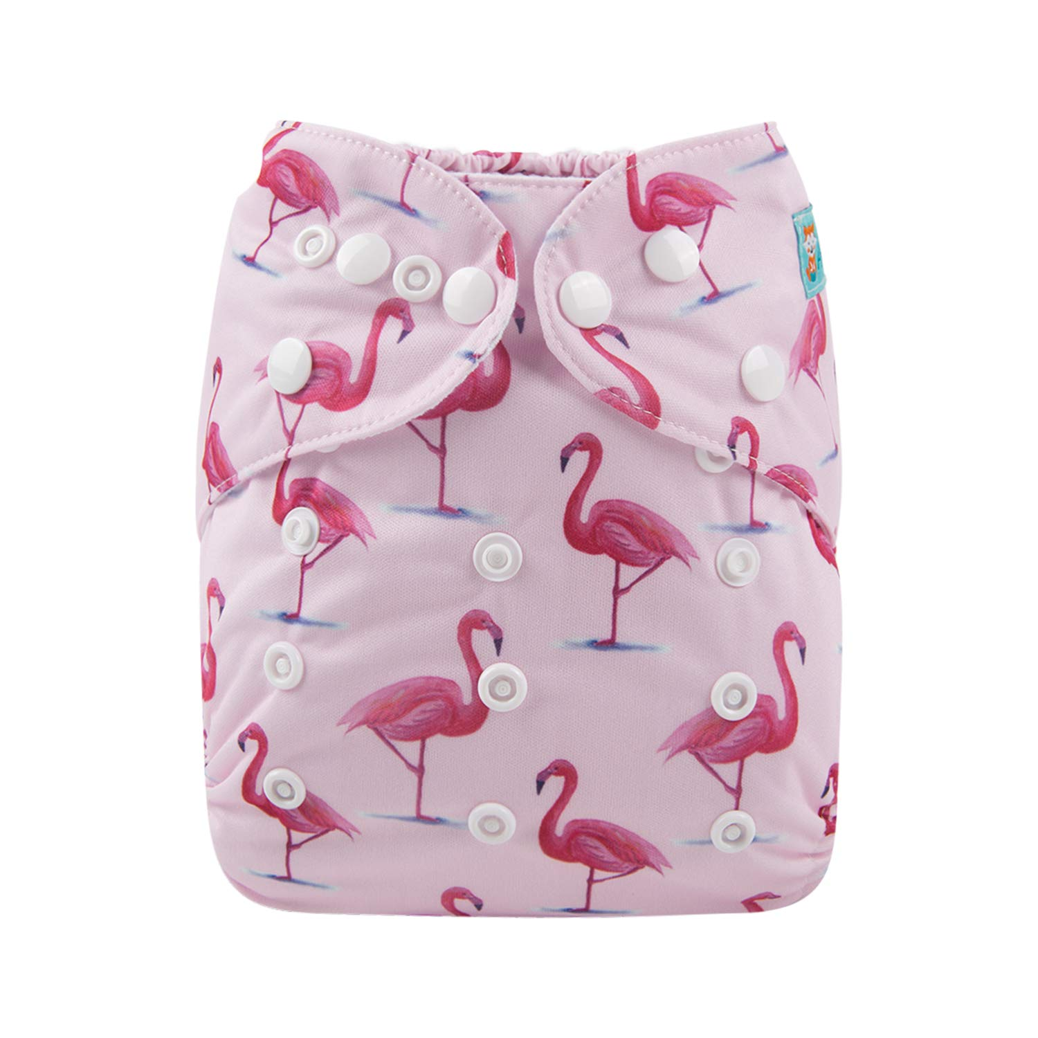 Alva Baby Diapers Reuseable Washable Pocket Cloth Diaper Nappy + 2 Inserts (YX13) Alvababy