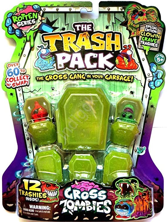 Trash Pack Gross Zombies (Rotten Series) by Moose: Amazon.es: Juguetes y juegos