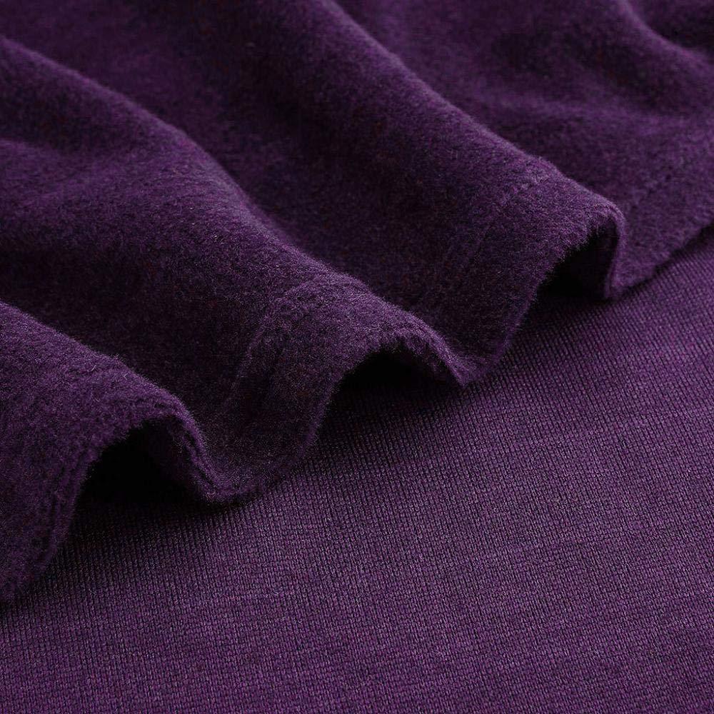 VJGOAL Albornoz con Capucha para Hombre Felpa de Invierno Color s/ólido T/única Alargada Tallas Grandes Pijama Casual Suave de Manga Larga con Bolsillos