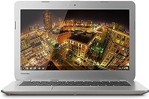 Toshiba Chromebook PLM01U-002005 Intel Celeron 2955U X2 1.6GHz 2GB,Silver(Renewed)