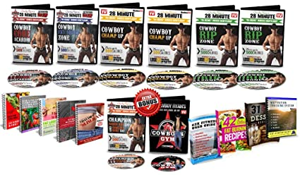 Amazon Com Lose 12 Inches Kit Dvd Workout With Cowboy Ryan
