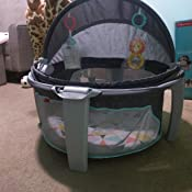 Amazon Com Fisher Price On The Go Baby Dome Gray And