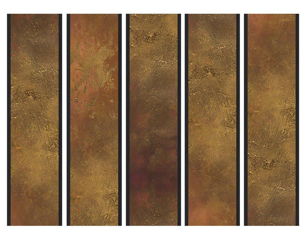 135x172 cm de Impresion Bilateral en el Lienzo de TNT de Calidad Decoracion Cuarto Foto f-A-0386-z-b murando Biombo de Madera con Imagen Impresa Biombo