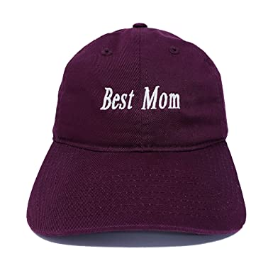 Calihat Style Best Mom Hat Strapback Dadhat Wine at Amazon