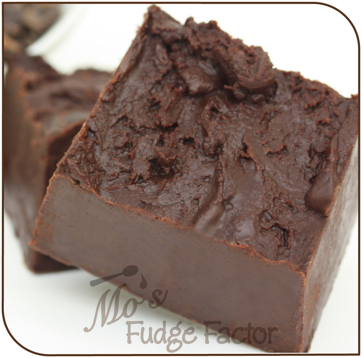 Mo's Fudge Factor, Dark Chocolate Fudge, 2 pound by Mo's Fudge Factor