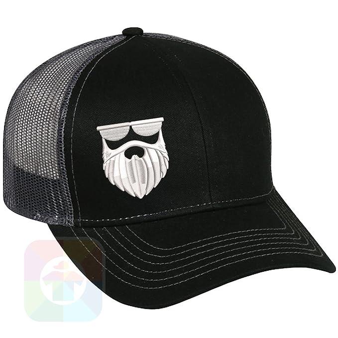 e56a9006198 Custom Tshirts and Hats Beard Structured Snapback Baseball Mesh Hat Cap  #1147 at Amazon Men's Clothing store