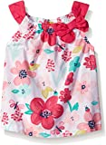 Gymboree Baby Girls' White and Pink Floral Tank