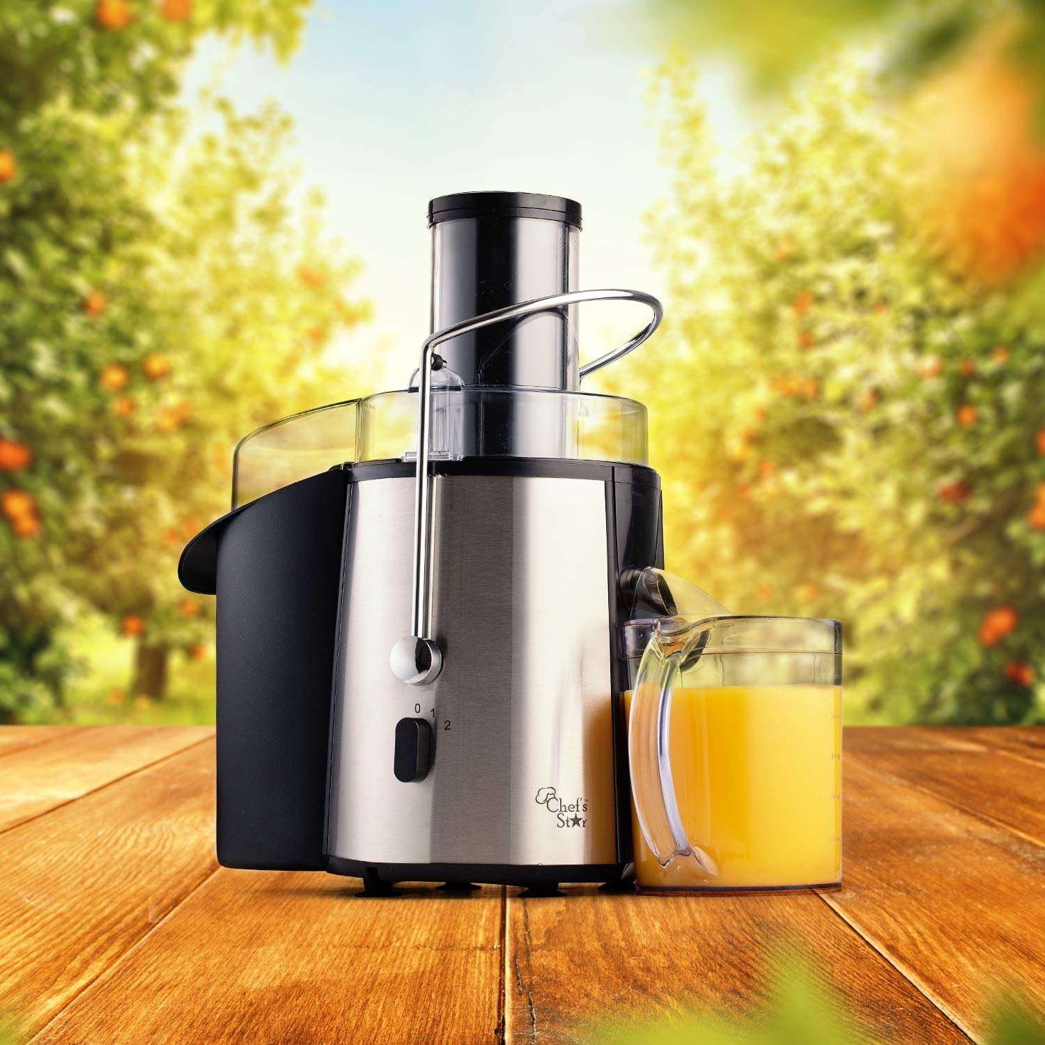 Amazon.com: Chef s Star juc700 Juicer – Extractor de jugo ...