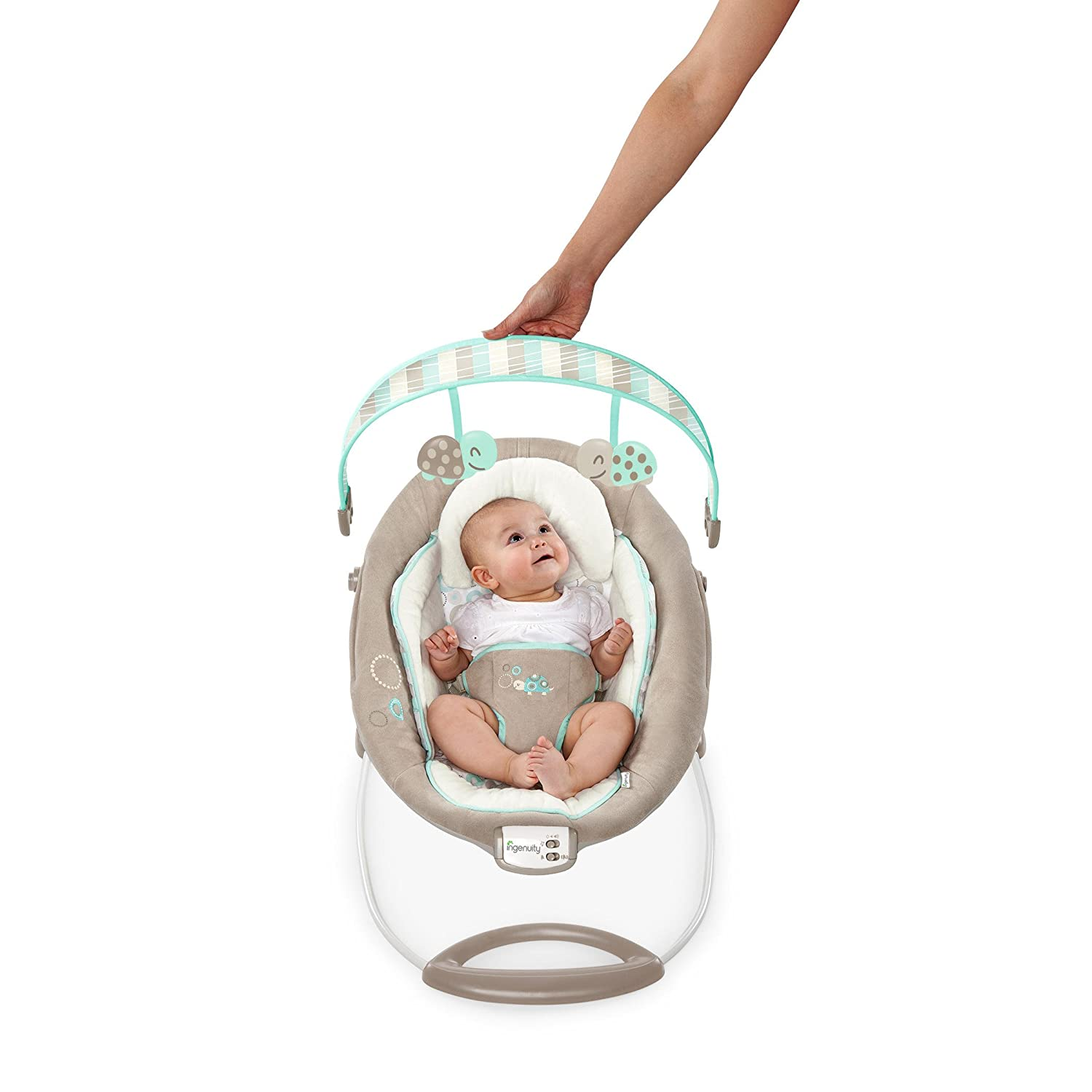 Amazon Ingenuity Sampson Vibrating Bouncer 8 57 Pound Baby