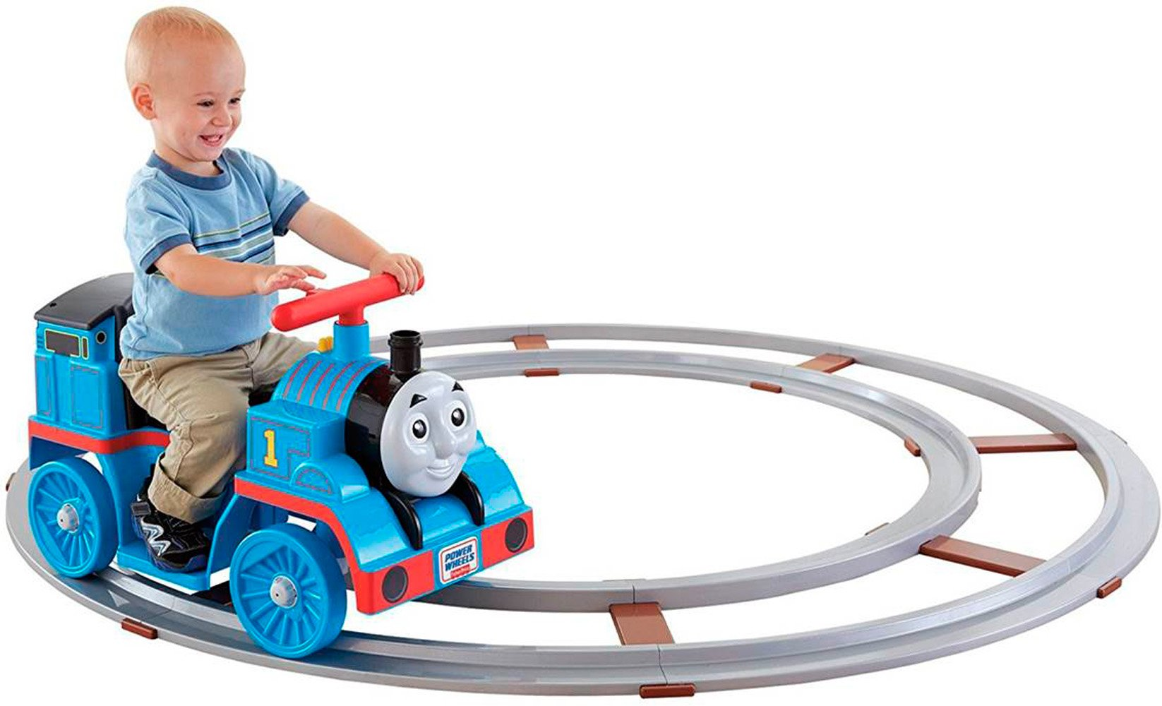 Power Wheels Thomas & Friends, Thomas Train with Track [Amazon Exclusive] by Fisher-Price
