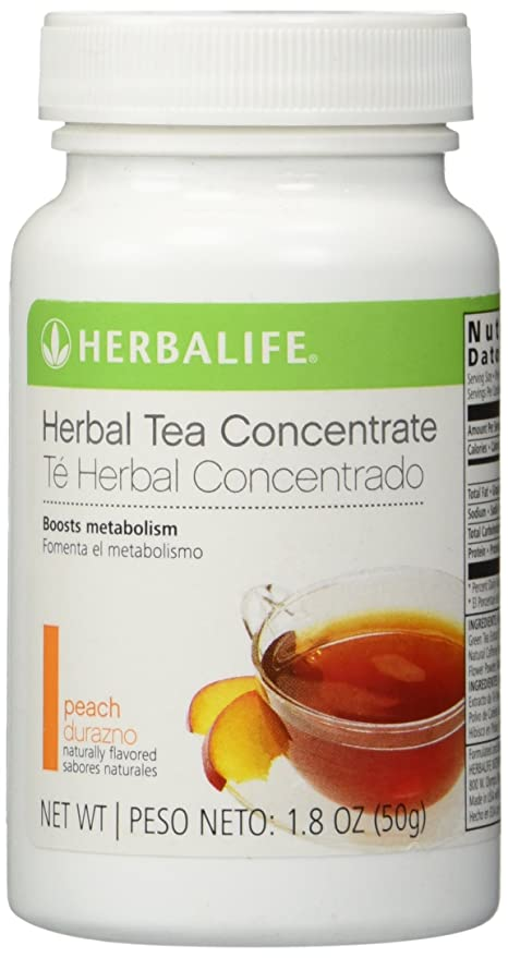 Herbalife Herbal Tea Concentrate – Peach Flavor 1.8 oz