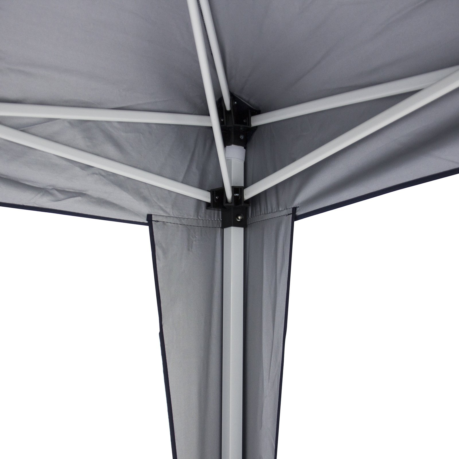Best Choice Products 10x10ft Portable Lightweight Pop up Canopy Tent w/Side Walls Carrying Bag - Blue/Silver by Best Choice Products (Image #2)