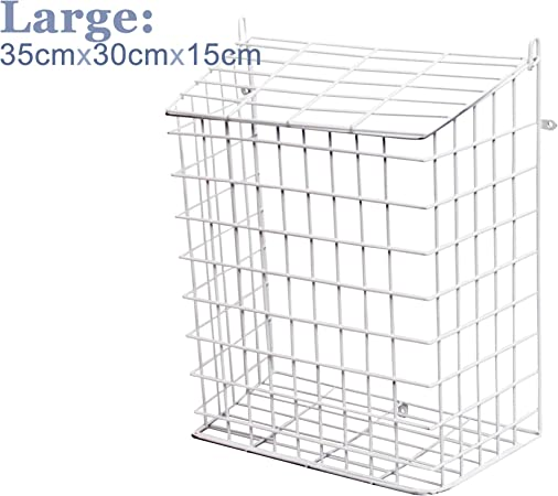 WHITE LETTER CAGE LETTER BOX BOX CAGE LETTERBOX POST BOX DOOR POST BOX Medium