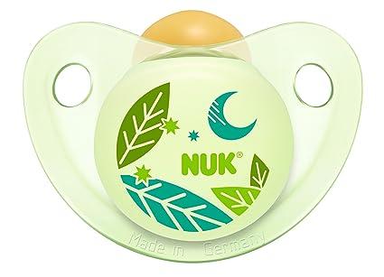 Nuk Trendline - Chupete de noche/día de látex T1