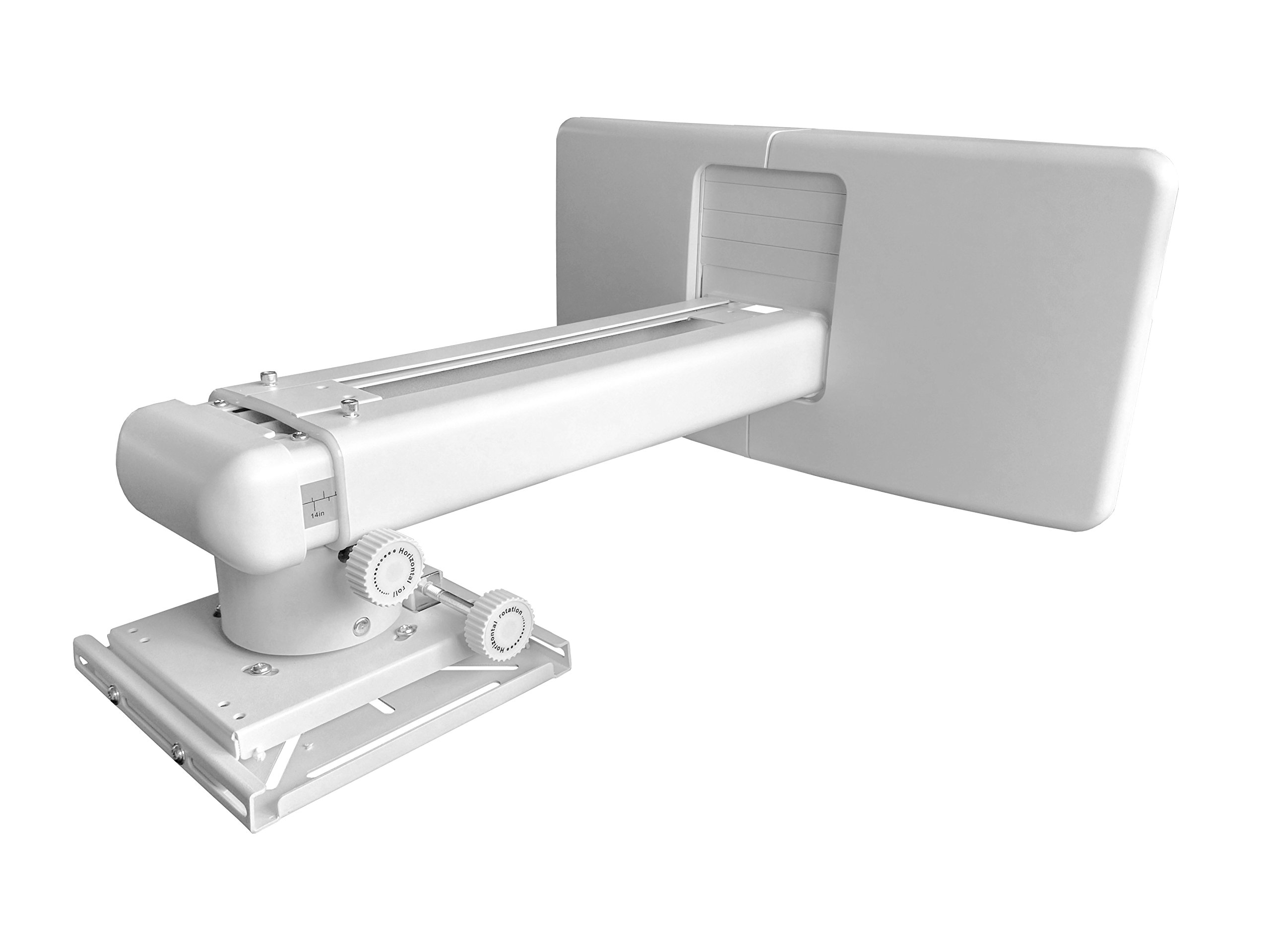 UST Projector Mount,Extension Length:14.37''-25.28'' with Universal Mounting Plate