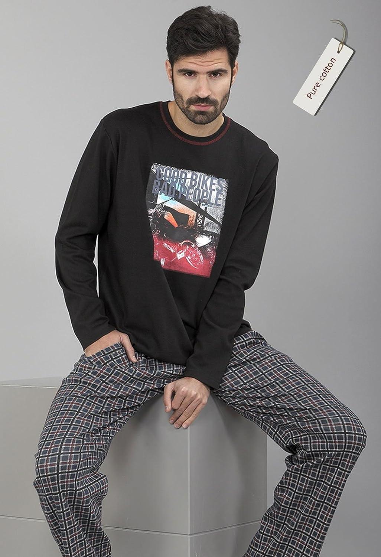 Massana - Pijama Hombre Invierno MASSANA manga larga PURE ...