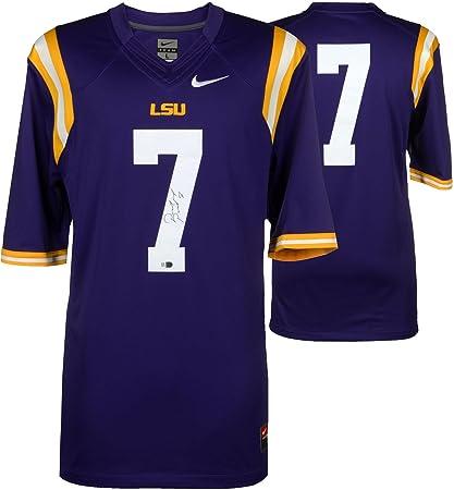 7d2706da1 Image Unavailable. Image not available for. Color  Patrick Peterson LSU  Tigers Autographed Nike Purple Limited Jersey - Fanatics Authentic ...