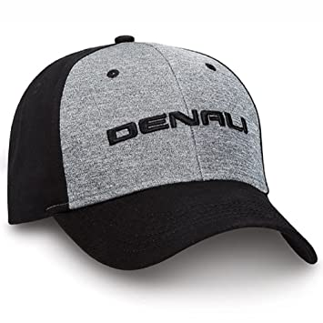 65f25bc52a4 Amazon.com  GMC Denali Black Gray Marled Jersey Hat  Automotive