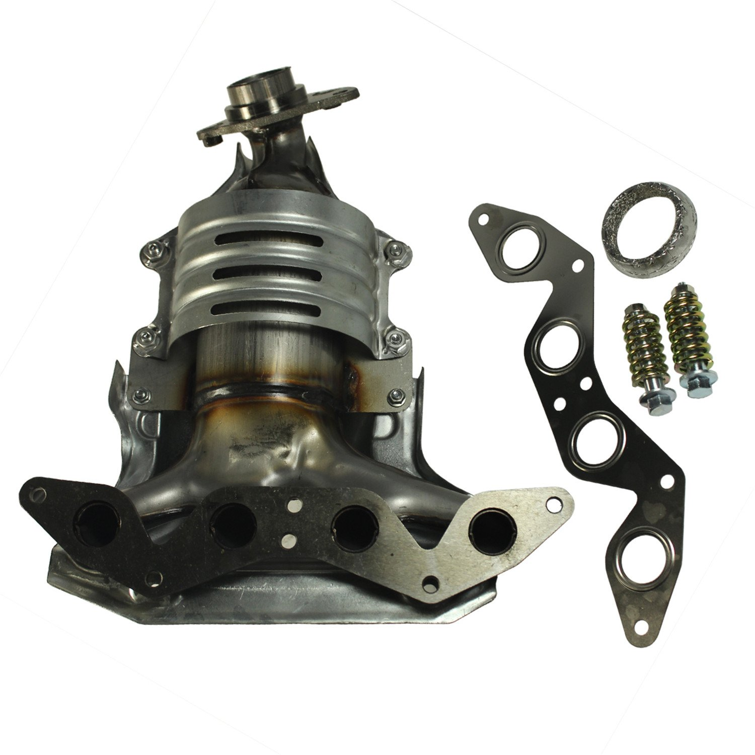 JDMSPEED New 674-608 Exhaust Manifold W/Catalytic Converter For Honda Civic 1.7L L4 SOHC