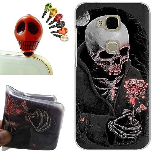 2 opinioni per Huawei G8 Custodia,Huawei G8 Cover, Gallery88 [Tappi Anti-polvere] Custodia in