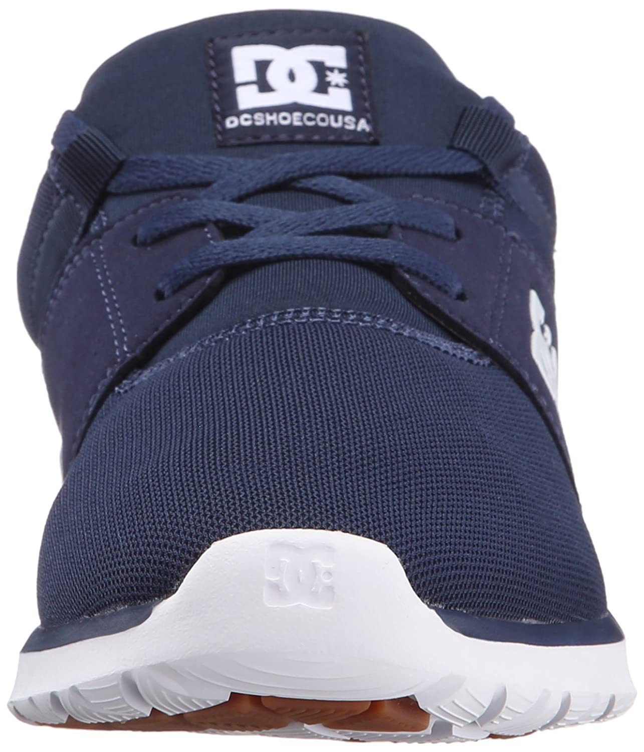 DC Men's Heathrow Casual Skate Shoe B01837XXDW 11.5D D US|Navy