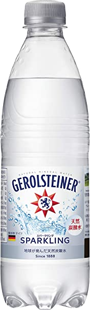 Amazon   サッポロ GEROLSTEINER(ゲロルシュタイナー) 天然炭酸水 500ml×24本 [正規輸入品]   GEROLSTEINER(ゲロルシュタイナー)   食品・飲料・お酒 通販