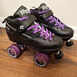 Amazon Com Sure Grip Rock Gt50 Roller Skates W Purple Zoom And Purple Lace Size 1 Sports Outdoors