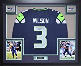 Russell Wilson Autographed Blue Seahawks Jersey