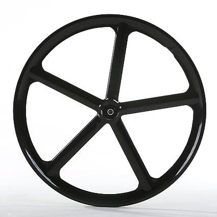 amazon com solomone cavalli 700c 5 spoke all in one bicycle wheel