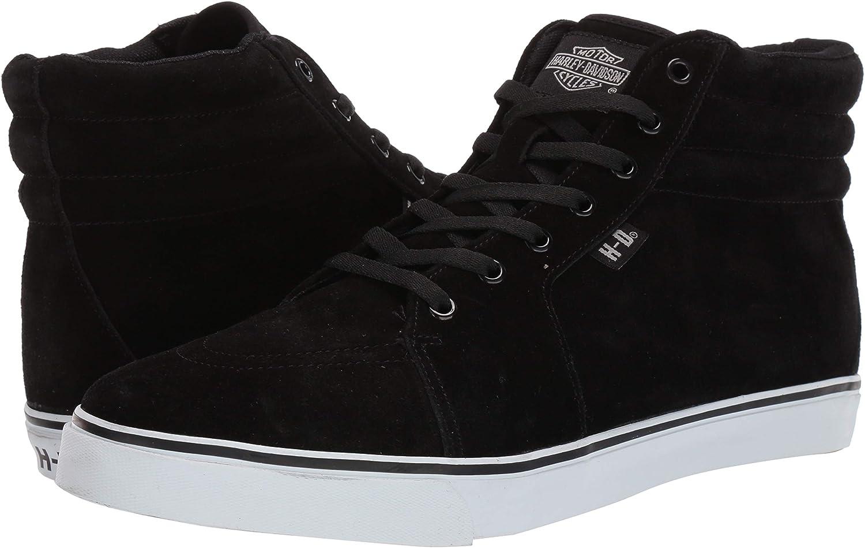 HARLEY-DAVIDSON Mens Scott//BLK Chukka LACE UP Fashion Sneakers