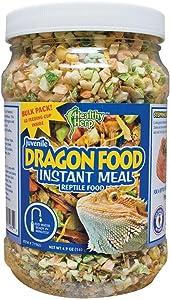Healthy Herp Juvenile Dragon Food Instant Meal 3.9-Ounce (110 Grams) Jar