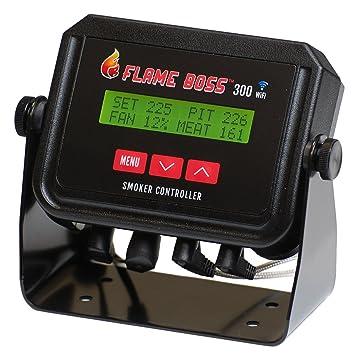 Flame Boss 300 de WiFi Universal Barbacoa y ahumador Temperatura Controlador