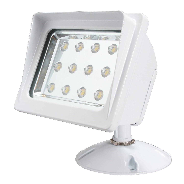 Led Wall Pack Flood Light: American Lighting AL-WF-WH LED Wall Pack Flood Light, 120