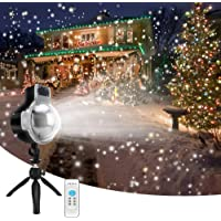 LEDshope Wireless Remote Snowfall Projector LED Lights