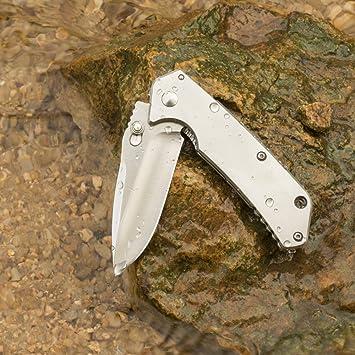 Sanrenmu 7056luc SA Knife - Navaja de Taschenmesser Cuchillo ...