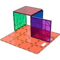 Playmags 172 superstrapazierfähiges Grundplatten-Set, fantastische Ergänzung zu jedem Magnetbaukasten (Farben können variieren)
